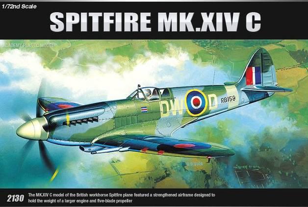 Academy Spitfire MK.XIVc 1/72 Model Kit
