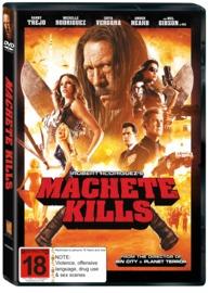 Machete Kills on DVD