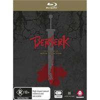 Berserk: The Golden Age Arc Movie Collection on Blu-ray