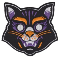Sourpuss Cat Mask Patch