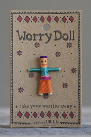 Natural Life: Worry Doll - Girl