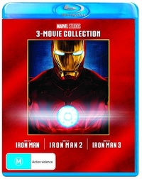 Iron Man: 3 Movie Collection on Blu-ray