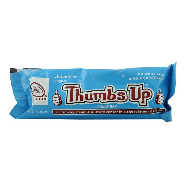 Go Max Go Foods: Thumbs Up Candy Bar 37g