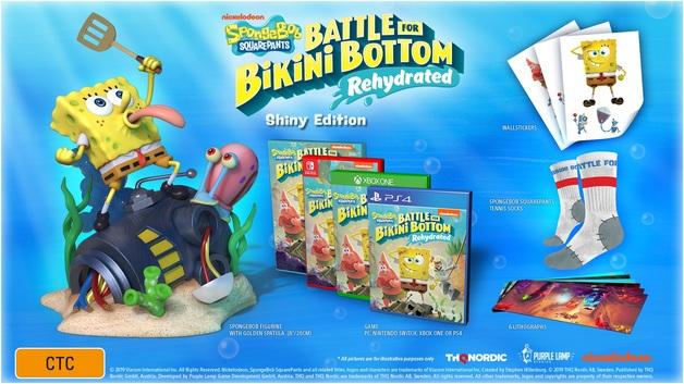 SpongeBob Squarepants: Battle for Bikini Bottom Rehydrated Shiny Edition for Xbox One
