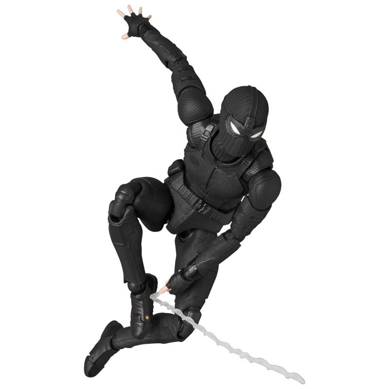 Spider-Man (Stealth Suit) - Mafex Action Figure image