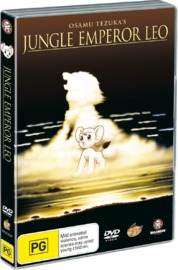 Jungle Emperor Leo on DVD image