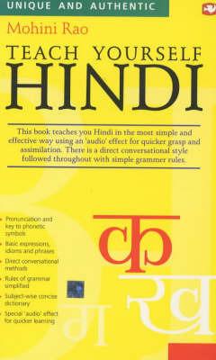 Teach Yourself Hindi by Mohini Rao