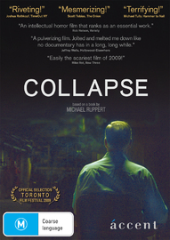 Collapse on DVD