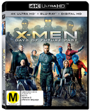 X-Men: Days of Future Past (4K UHD + UV) DVD