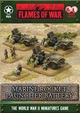 Flames of War Marine Rocket Launcher Battery