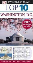 DK Eyewitness Top 10 Travel Guide: Washington DC by Susan Burke image
