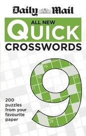 "Daily Mail All New Quick Crosswords 9 by ""Daily Mail"""