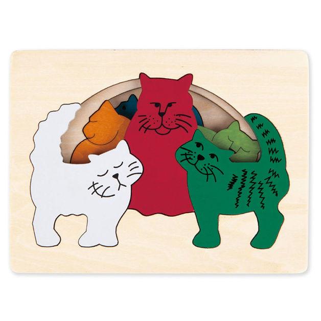 Hape: Cats Puzzle