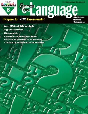 Common Core Practice Language Grade 6