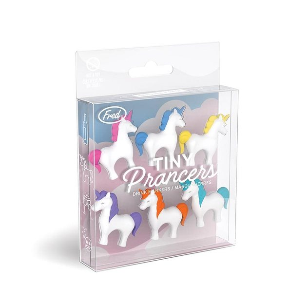 Fred: Tiny Prancers - Unicorn Drink Markers (set of 6)