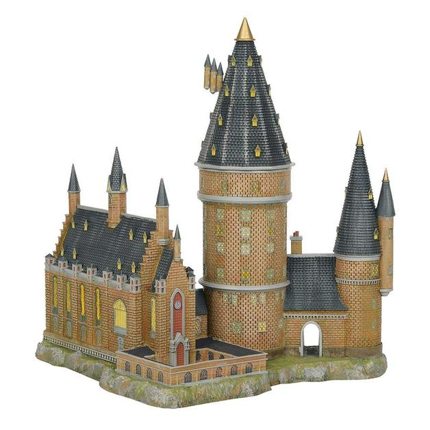Harry Potter: Hogwarts Great Hall & Tower - Village Statue