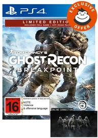 Tom Clancy's Ghost Recon Breakpoint Limited Edition for PS4