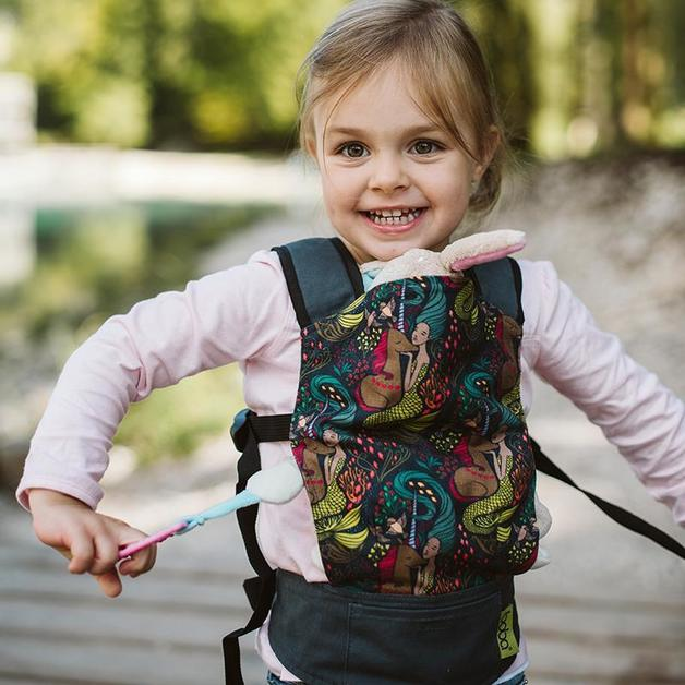 Boba: Mini Doll Carrier - Unicorns & Mermaids