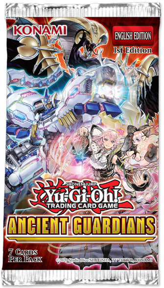 Yu-Gi-Oh! Ancient Guardians Single Booster