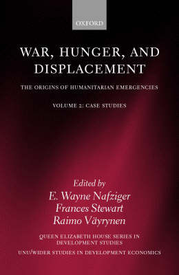 War, Hunger, and Displacement: Volume 2 image