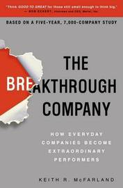 The Breakthough Company by Keith R McFarland image