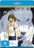 Princess Mononoke on Blu-ray