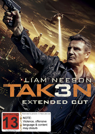 Taken 3 on DVD