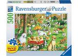 Ravensburger – At The Dog Park Lge Form Puzzle 500pc