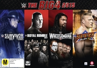 WWE: The Big 4 2015 (Collectors Box Set) on DVD image