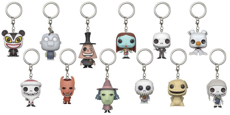 Nightmare Before Christmas: Pocket Pop! - Mystery Keychain (Blind Bag) image