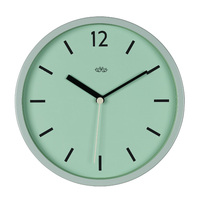 Wild Wood Wall Clock - Swedish Green (12 Inch)