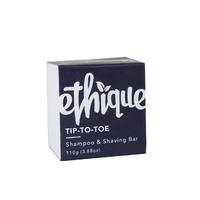 Ethique Tip To Toe Shampoo & Shaving Bar (110g)