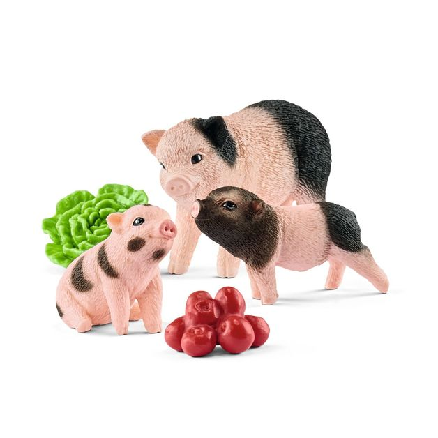 Schleich : Miniature Pig Mother & Piglets