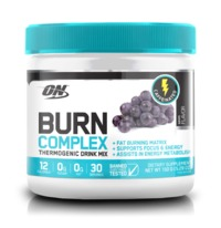 Optimum Nutrition: Burn Complex Thermogenic Drink Mix - Grape (30 Serves)