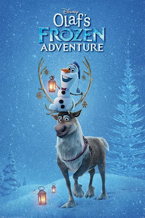 Frozen Maxi Poster - Olaf's Frozen Adventure (711)