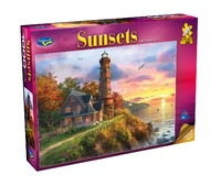 Holdson: 1000 Piece Puzzle - Sunsets S2 (Lighthouse Point)