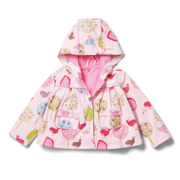 Raincoat Chirpy Bird - Size - 7-8