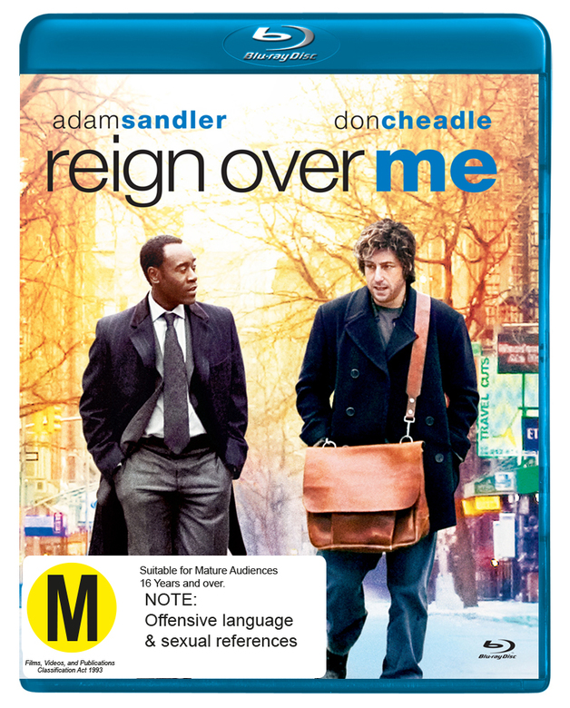 Reign Over Me on Blu-ray