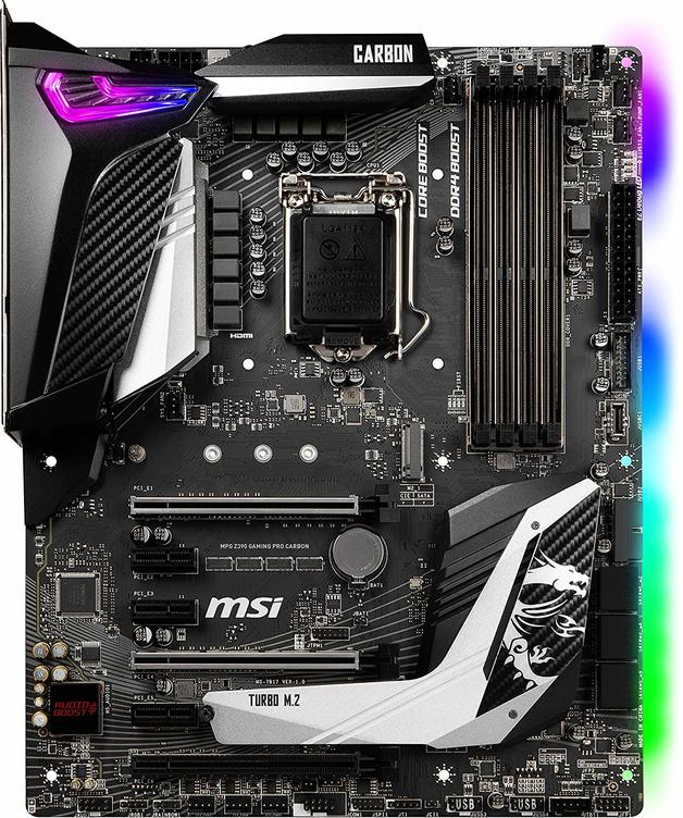 MSI MPG Z390 Gaming PRO Carbon Motherboard | at Mighty Ape NZ