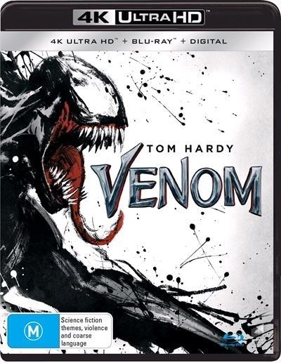 Venom on UHD Blu-ray