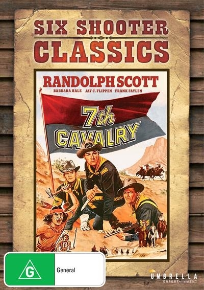 7th Cavalry (Six Shooter Classics) on DVD