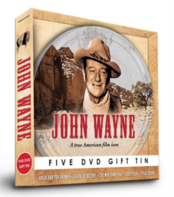 John Wayne Westerns Collection on DVD