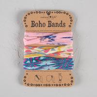 Natural Life: Boho Bands - Rose/Cream (Pack of 3)