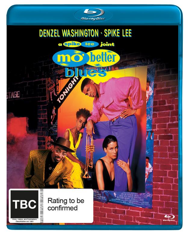 Mo Better Blues on Blu-ray