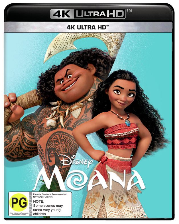 Moana on UHD Blu-ray