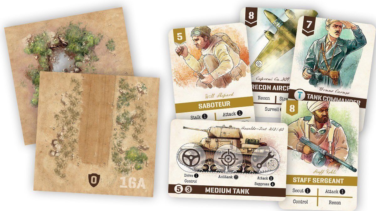 Undaunted: North Africa - Game Expansion image