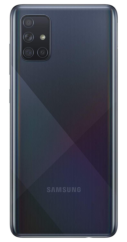 Samsung Galaxy A71 128GB(8GB RAM) - Prism Crush Black image