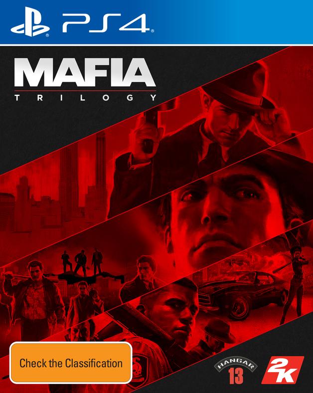 Mafia Trilogy for PS4