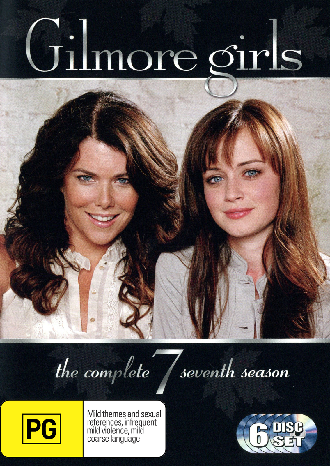 Gilmore Girls - The Complete Seventh Season (6 Disc Set) (New Packaging) on DVD image