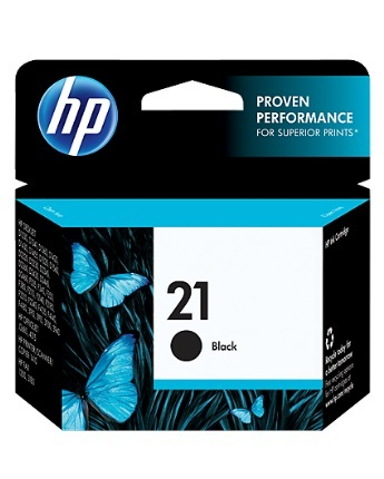 HP 21 Inkjet Cartridge C9351AA (Black) image